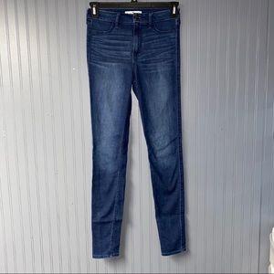 Women's hollister high rise Jegging skinny jeans